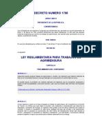 Ley Reglamentaria Para Trabajos de Agrimensura