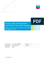 Gorgon Emp Offshore Domestic Gas Pipeline Installation Management Plan