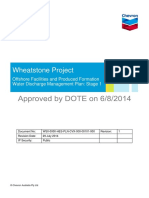 Wheatstone Emp Offshore Facilities Water Discharge Mgmt Plan Stage 1
