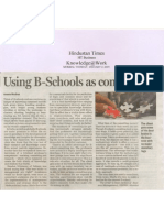 05 Using B-Schools as Consultants HT 02.01.07
