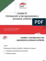 Operaciones y Procesos Unitarios - B