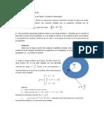 Ejercicios Gauss. Esferas