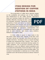 Planting Designs for Mechanization