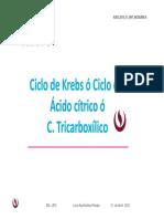 05 Ciclo de Krebs 2015-I