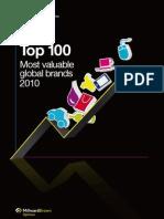 2010 BrandZ Top100 Report+