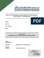 Pemarkahan KK EDU3073docx