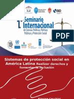 Conferencia «Políticas Públicas y Protección Social