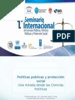 Conferencia «Políticas públicas y protección social desde las Ciencias Políticas», a cargo del Dr. Salvador Martí & Puig, catedrático de la Universidad de Salamanca y de la Universidad de Girona (España)