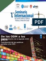 Conferencia «Implementación de la Agenda 2030 y Contribución de las Políticas Sociales a los ODS » por Luciana Mermet