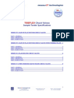 SPECS Tideflex Check Valves 0806