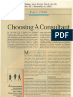 19 Choosing a Consultant