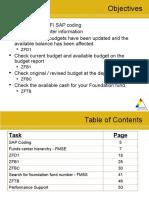 Sap Fi Budget Balance Reports