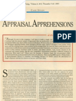 16 Appraisal Apprehensions