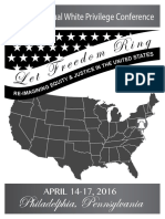 The 17 Annual White Privilege Conference   http://www.thefederalistpapers.org/