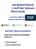"PPT-""Vascular and Skeletal Muscle Function in Gulf War Veterans Illness Study"" - Dr. Scott Kinlay"