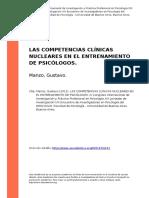 competencias clinicas