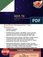 TB MDR Dr. Erneti, Spp