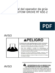 Manual Del Operador de Grúa