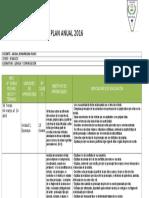 Plan Anual Lenguaje 8vo Basico