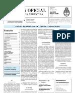 Boletin Oficial 04-05-10 - Segunda Seccion