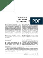 Dialnet-RetornosDelMarxRechazado-4792245