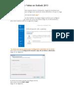 Cómo Configurar Yahoo en Outlook 2013