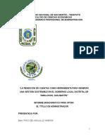 Monografia de Rendición de Cuentas 04-07-13