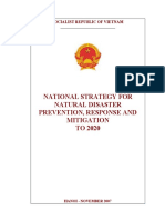 Vietnam National Strategy for disaster prevention 2020