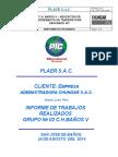 Informe de Trabajos Realizados G2 C.H.bañosV 24-08-2014 Rev00