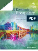 Arts Economic National Report