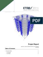Reporte de Proyecto Edificio 6 Niveles ETABS