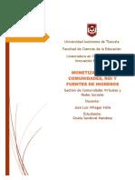2.- Reporte de lectura Monetización de Comunidades. Giiss.pdf