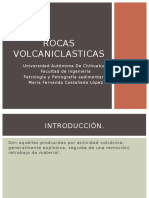 Rocas volcaniclasticas