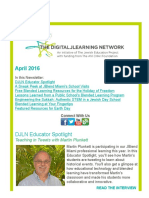 DJLN April 2016 Newsletter