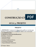 Const. Civil I. Aula 3. Projeto.pdf