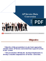 AP Invoice Conversion