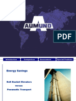 Power Savings.air Lift. B Elevator. Aumund