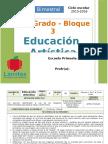 Plan 2do Grado - Bloque 3 Educación Artística.doc