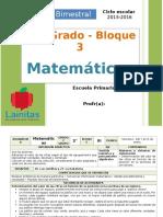 Plan 2do Grado - Bloque 3 Matemáticas.doc