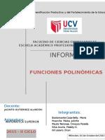 Informe - Mate Sup - Polinómicas