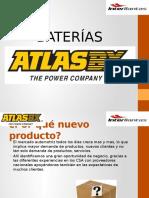 Presentación Clientes Baterias ATLAS BX 2016