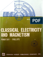 PANOFSKY and PHILIPS - Classical Electricity and Magnetism 2nd. Ed.