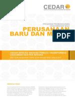 CEDAR Prog Pmbgn Usahawan Usahawan Baru Mikro Brochure April2013