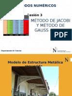 PPT 3 - Sesión 3-Método de Jacobi - Gauss Seidel