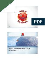 1.- Junta de Oportunidad de Negocio