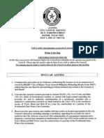 City Council Agenda 05/05/10