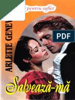 Arlette Geneve - Saga Familiei Beresford - Vol.3 - Salveaza-ma