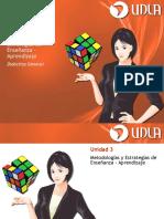Unidad III - Metodologias y Estrategias de Ensenanza - Aprendizaje