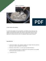 Sopa de Cenizas de Madera y Té Potásico