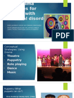 using drama strategies for children with emotional disorder  wenceslao de la pena